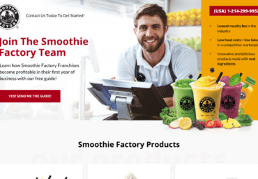 Smoothie Factory - best web design Dallas – best web design Plano - website design company Dallas – website design company Plano - web design agency Dallas – web design agency Plano – best website design Dallas – best website design Plano – Web Loft Designs Dallas and Plano
