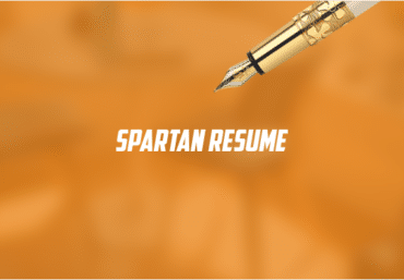 Spartan Resume web design