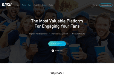 DASH website development - Web Loft Designs Dallas and Plano